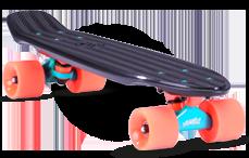 Cruiser yamba noir corail oxelo